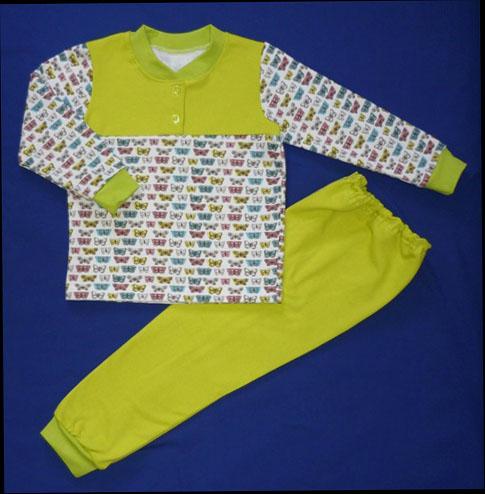 Пижама детская & Бабочки&  30 - Одежда для сна