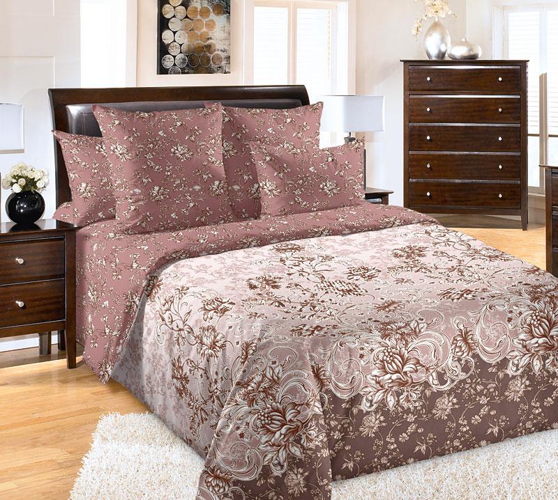 Постельное белье Флористика (перкаль) (2 спальный) постельное белье альба перкаль 2 спальный