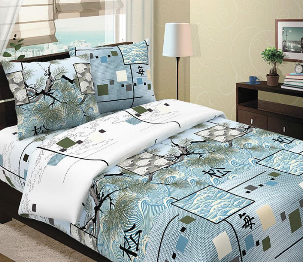 Постельное белье Окинава (бязь) (1,5 спальный) постельное белье жаркое лето бязь 1 5 спальный