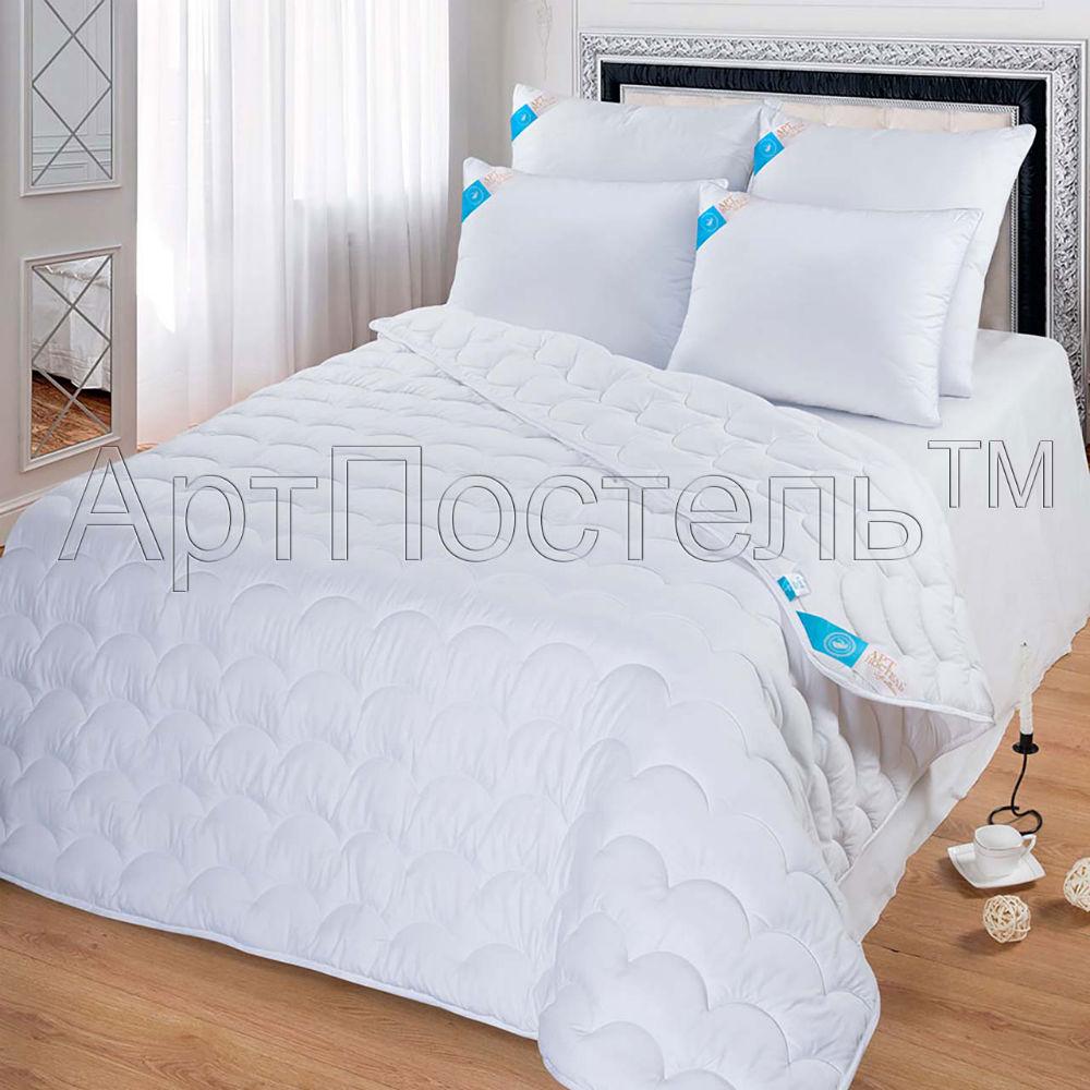 """Одеяло зимнее """"Майли"""" (лебяжий пух, микрофибра) 2 спальный (172*205)"""