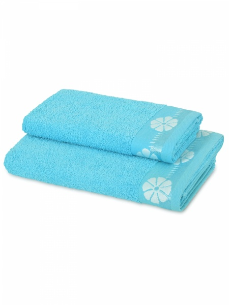 Полотенце махровое Василек (морское) (50х90) полотенца philippus полотенце laura 50х90 см 6 шт