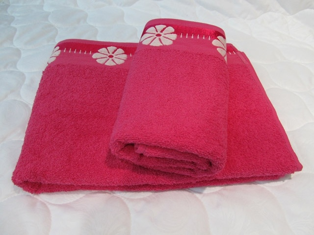 Полотенце махровое Василек (брусничное) (70х140) полотенце махровое 70х140 см brielle полотенце махровое 70х140 см
