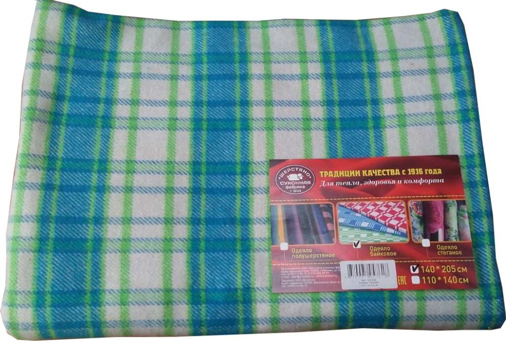 Одеяло байковое iv35417 (1,5 спальный (140*205)) одеяло облегченное iv20338 овечья шерсть микрофибра 1 5 спальный 140 205