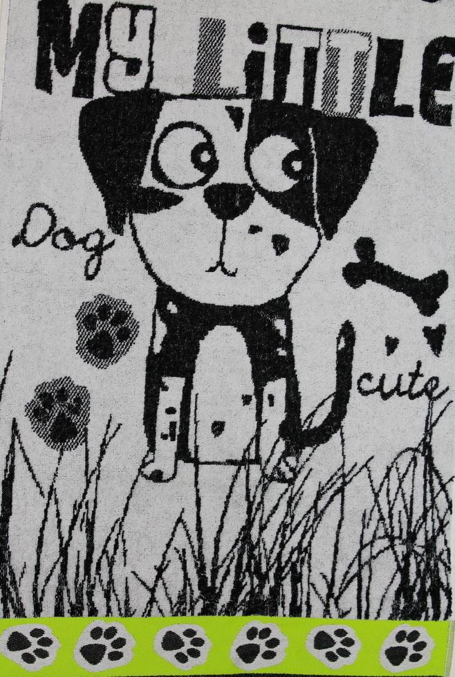 "Полотенце махровое ""My little dog"" 50х80"