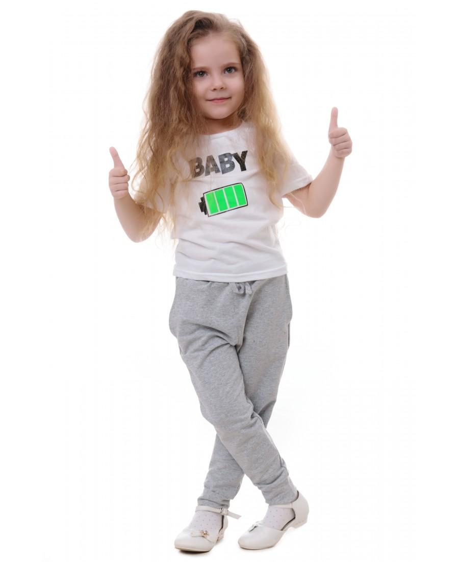 """Фото - Футболку детская """"Батарейка"""" от Грандсток"""