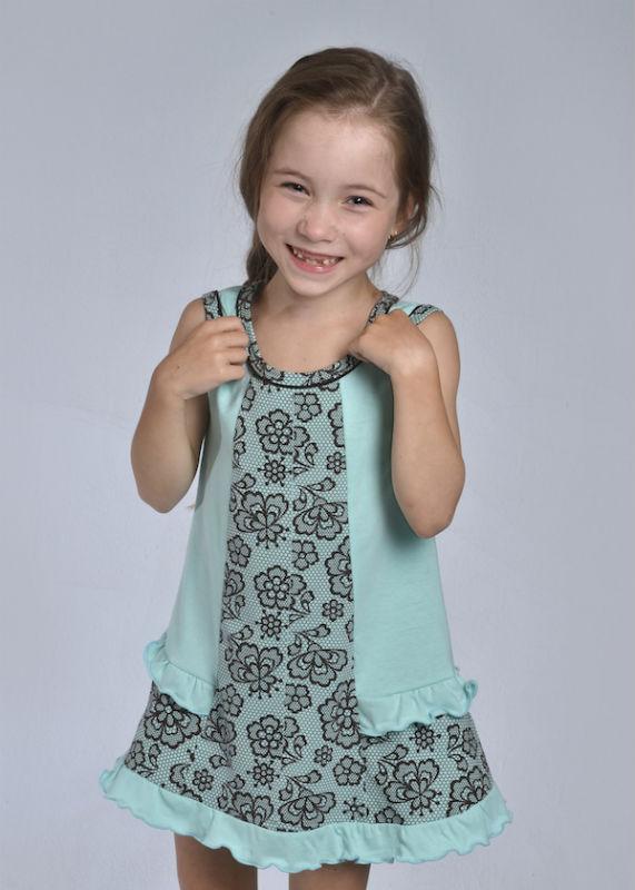 Сарафан детский #Милана#, Размер: 26 - ДЕТЯМ - Платья и юбки