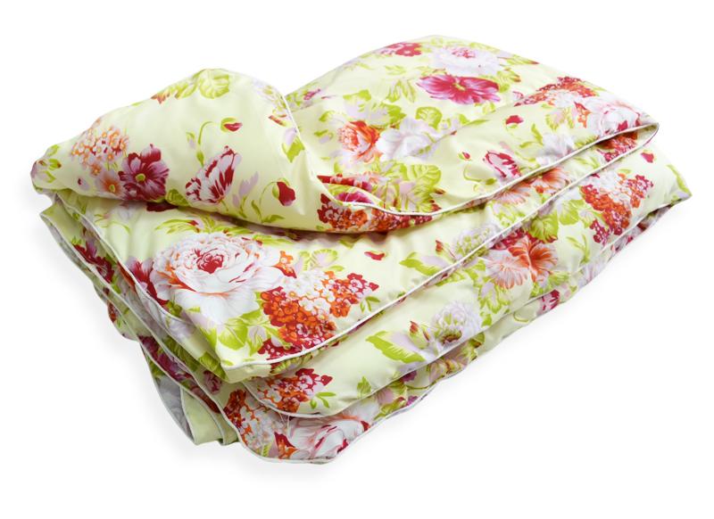 """Одеяло облегченное Сияние (синтепон, полиэстер) (1,5 спальный (140*205)) одеяло облегченное """"золотое руно"""" микрофибра 1 5 спальный 140 205"""