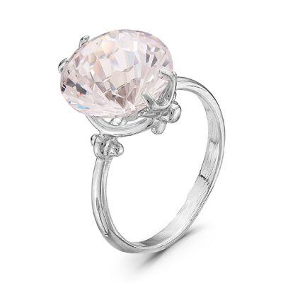 Кольцо серебряное 2382205Д кюп женское серебряное кольцо с куб цирконием alm3201002261 17
