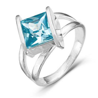 Кольцо серебряное 2386064б3 кюп женское серебряное кольцо с куб цирконием alm3201002261 17