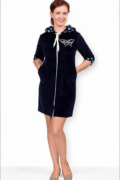 Халат женский #Бэйсика# 50, Размер: 50 - Халаты - Теплые халаты