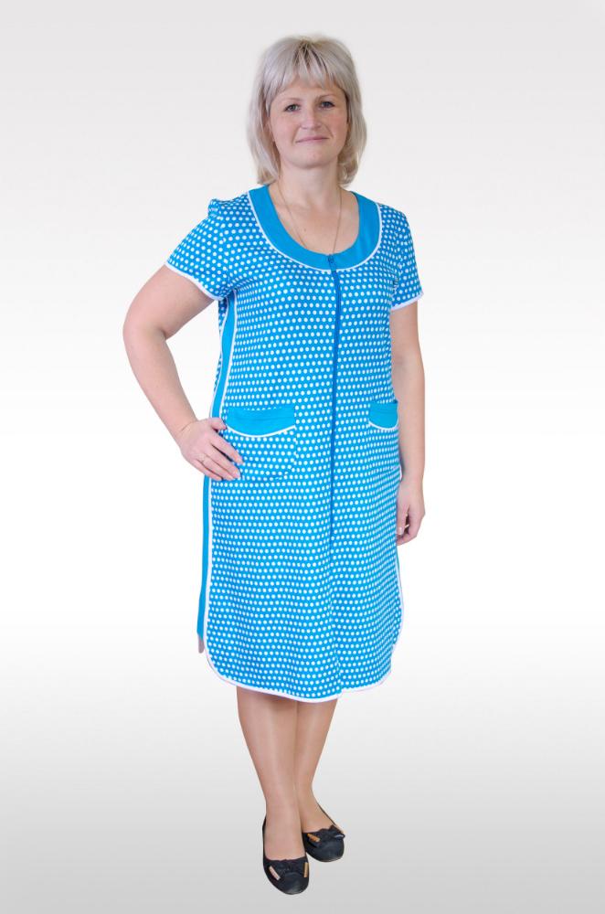 Халат женский Батик-горох batik batik халат махровый голубой