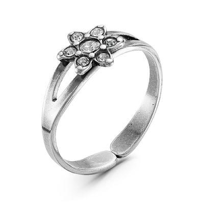 Кольцо бижутерия 2467508ч2 (безразмерное) кольцо бижутерия 2469145ак