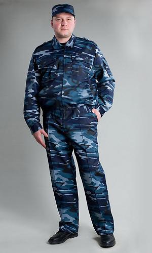 Костюм мужской Страж (серый)