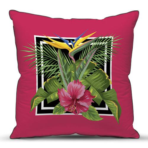купить Подушка декоративная Тропическая (40*40) дешево