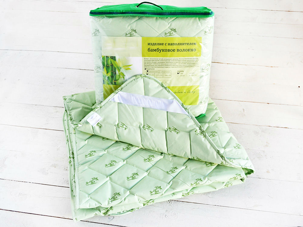 """Одеяло зимнее """"Сновидения"""" (бамбук, тик) 1,5 спальный (140*205)"""
