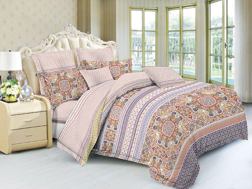 Постельное белье Пейсли (полисатин) (1,5 спальный) постельное белье эго комплект 1 5 спальный полисатин