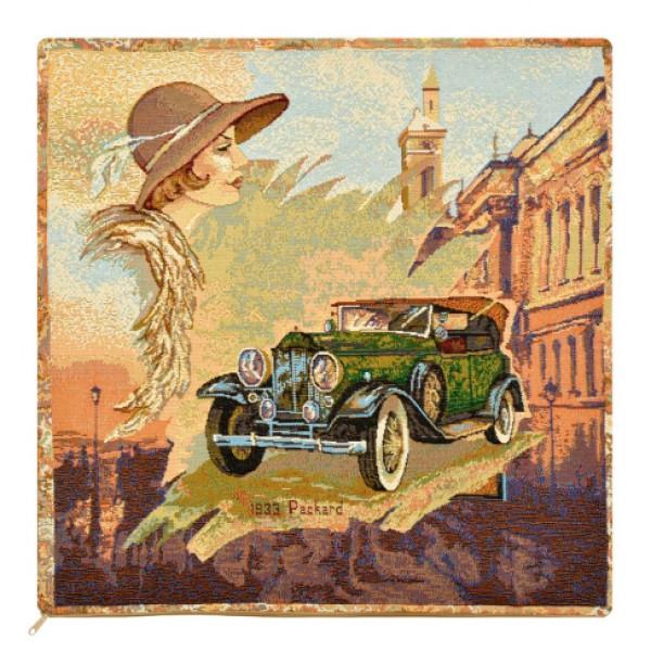 Наволочка декоративная Авто 1933 (50*50) наволочка декоративная рококо 50 50