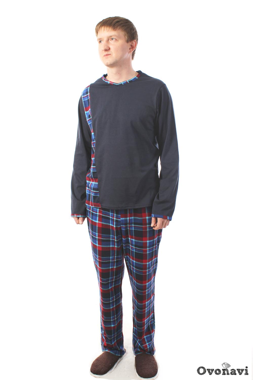 цена Пижама мужская Ovonavi-1501 онлайн в 2017 году