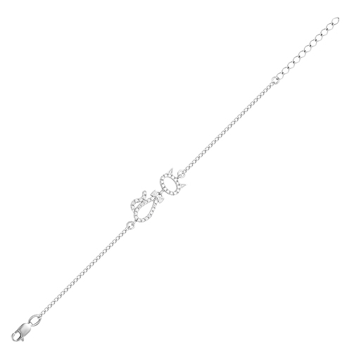 Браслет серебряный iv25061 (17)
