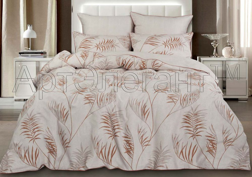 Постельное белье iv24238 (велюр) (2 спальный с Евро простынёй)