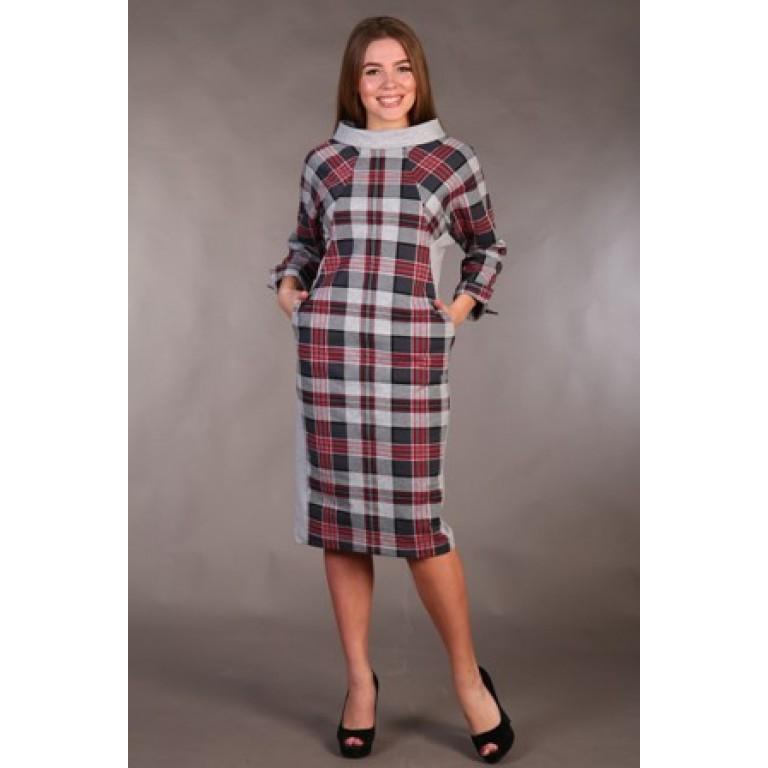 Платье женское Клеточка женское платье e2 1569 xl 6fg