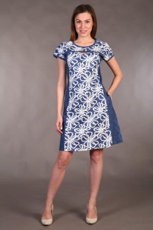 Платье женское Аннета аннета валюс сутажная вышивка