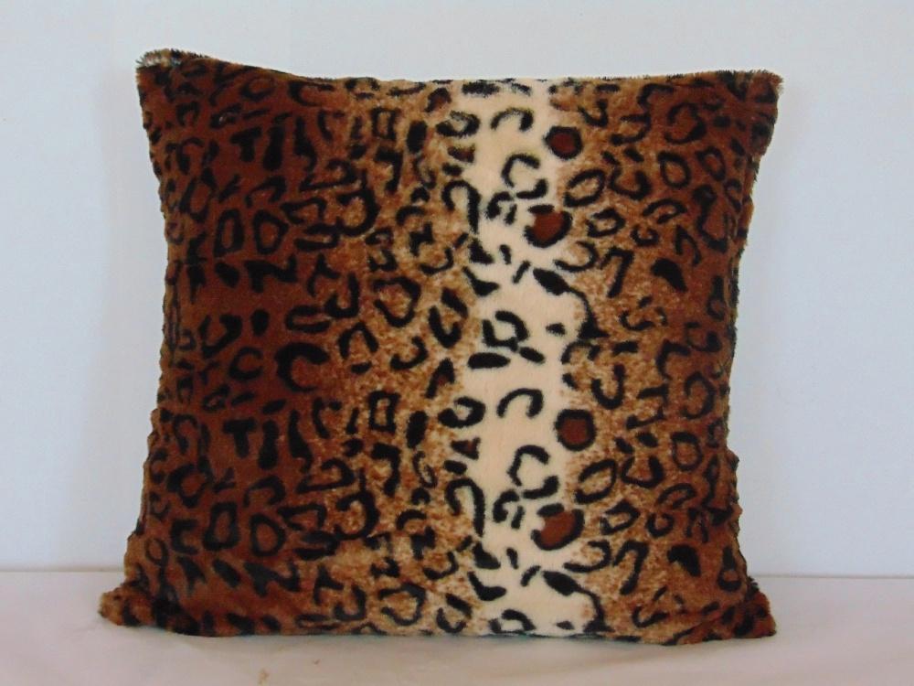 Декоративная подушка Шкура леопарда (искусственный мех) (40*40) lavera 40
