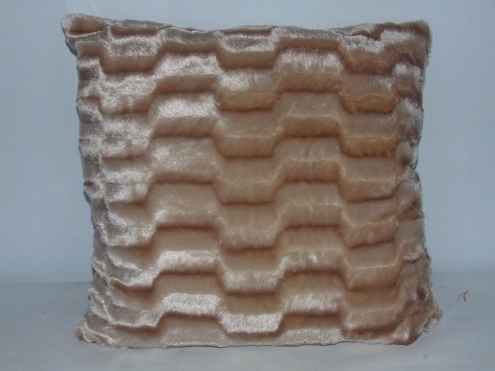 Декоративная подушка Норка (искусственный мех) (50*50) декоративная подушка шкура медведя искусственный мех 50 50
