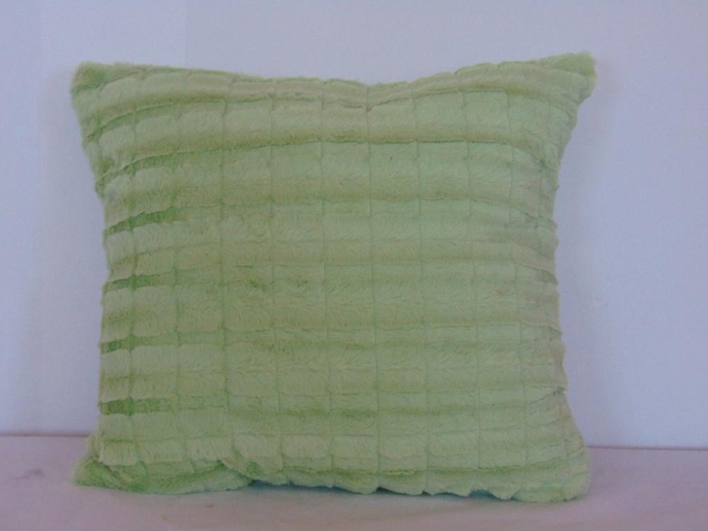 Декоративная подушка Фисташковый (искусственный мех) (50*50) декоративная подушка шкура медведя искусственный мех 50 50
