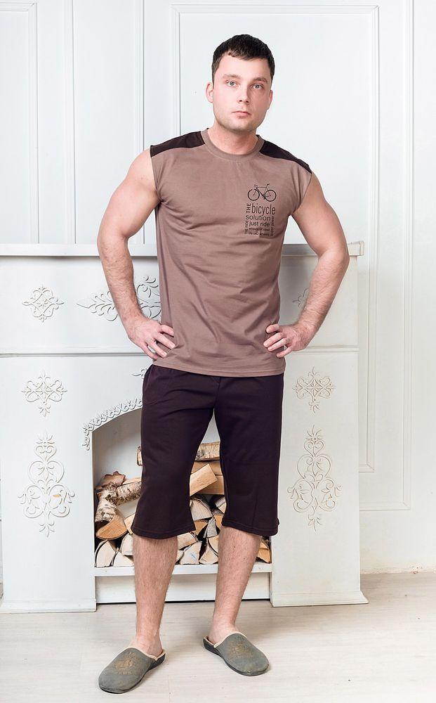 Костюм мужской #Николай#, Размер: 48 - Домашние костюмы - Костюмы с шортами