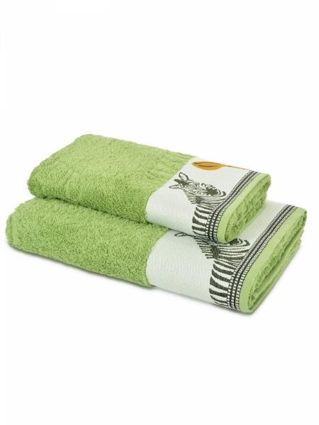 Полотенце махровое Африка (зеленое) (50х90) полотенца philippus полотенце laura 50х90 см 6 шт