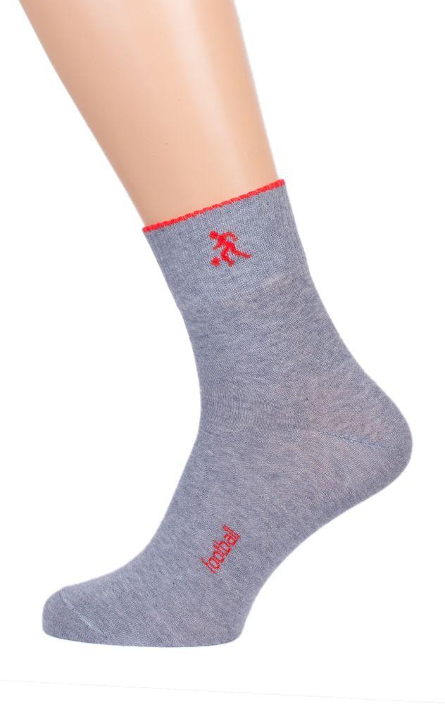 Носки мужские #Футбол# (упаковка 5 пар) 25, Размер: 25 - Текстильные мелочи - Носки