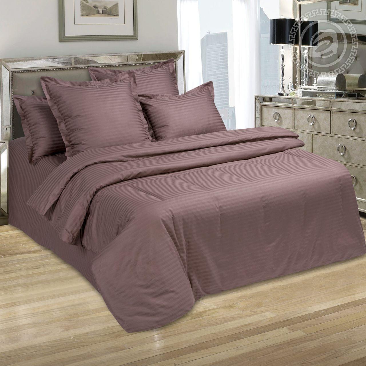 Фото - Постельное белье Папирус (страйп-сатин) (1,5 спальный) постельное белье тифани сатин 1 5 спальный