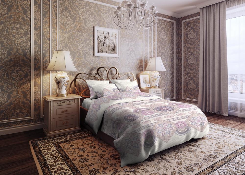 цена Постельное белье iv49452 (бязь) (2 спальный) онлайн в 2017 году