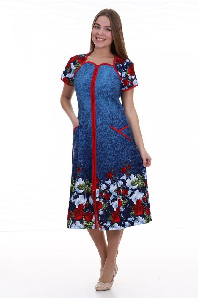 Халат женский #Чивонне#, Размер: 50 - Халаты - Легкие халаты