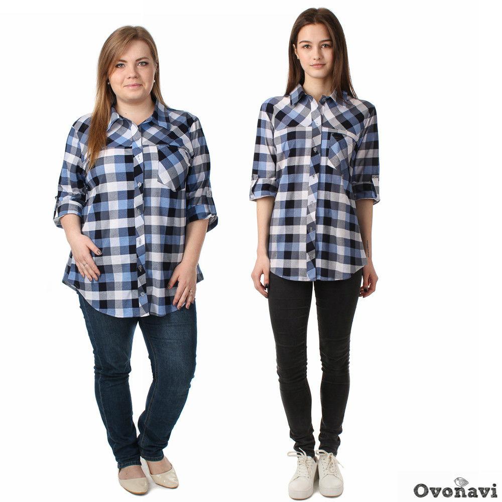 Купить Рубашка женская Сара 44, Грандсток