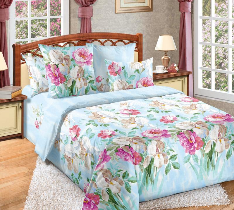 Постельное белье Желание голубое (бязь) (2 спальный) постельное белье генри бязь 2 спальный