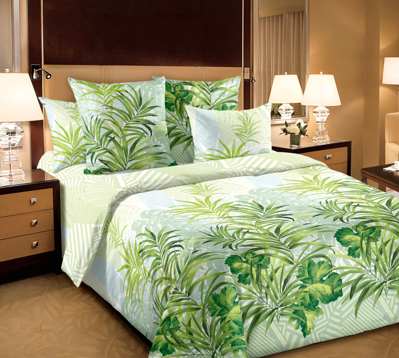 Постельное белье Амазония (бязь) (2 спальный) постельное белье ромашковое поле бязь 1 5 спальный