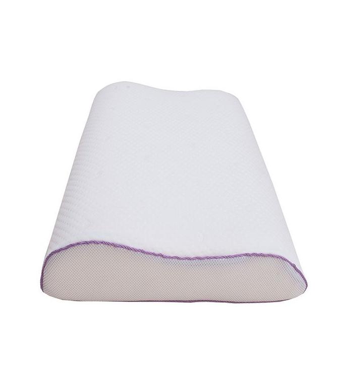 Подушка c эффектом памяти iv59604 (пенополиуретан, трикотаж) (40*60) подушка revery silk dream l наполнитель пенополиуретан 60 x 40 см
