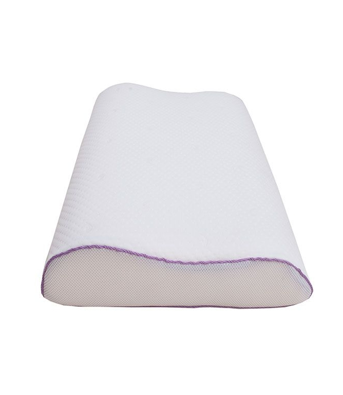 Подушка c эффектом памяти iv59605 (пенополиуретан, трикотаж) (40*60) подушка revery silk dream l наполнитель пенополиуретан 60 x 40 см
