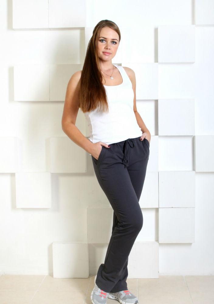 Брюки женские Скей (56) женские брюки лэйт темный размер 56