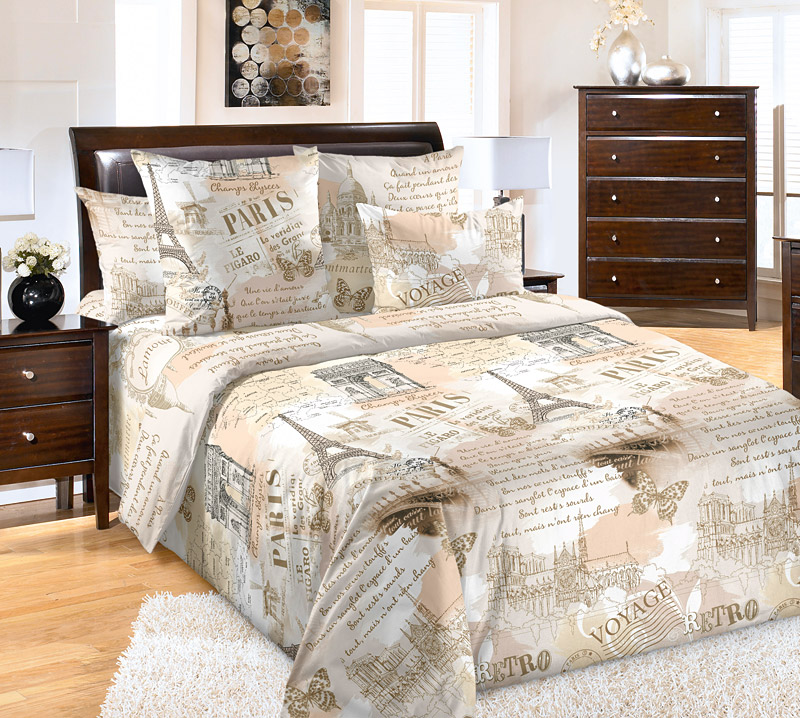 Постельное белье Вояж (бязь) (2 спальный) постельное белье wenge sanremo 11791 1 11792 1 комплект 2 спальный бязь 516377