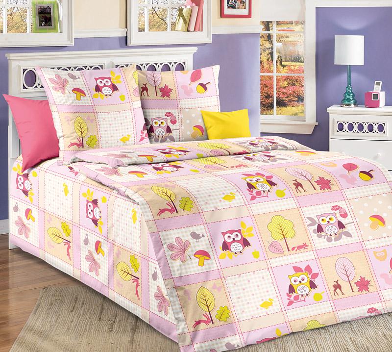 """Постельное белье """"Дорис"""" розовый (бязь) (1,5 спальный) стоимость"""