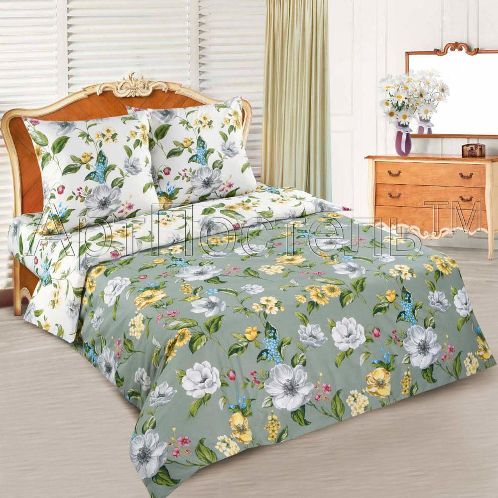 Постельное белье Жаклин (поплин) (1,5 спальный) постельное белье дельфины поплин 1 5 спальный