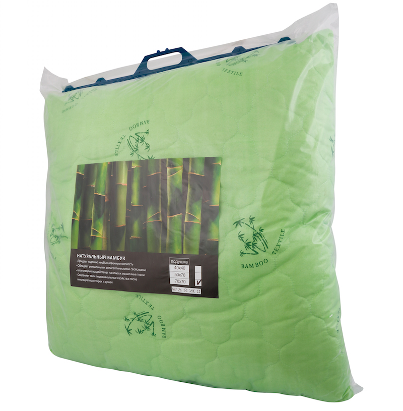"Подушка ""Мотарак"" (бамбук, полиэстер) (50*70) restline подушка cotton 50 70"