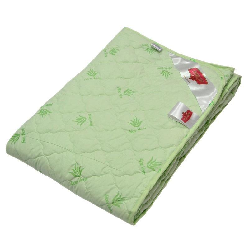 """Одеяло летнее """"Камилла"""" (алоэ вера, тик) 1,5 спальный (140*205) от Grandstock"""