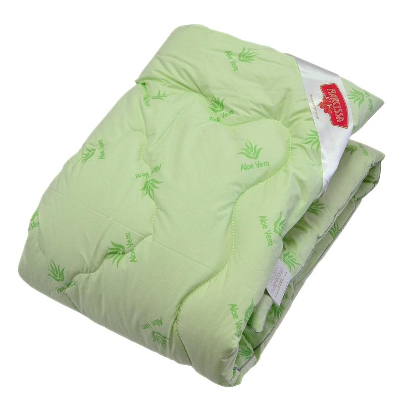"Одеяло зимнее ""Мечта"" (алоэ-вера, тик) Евро-1 (200*220)"