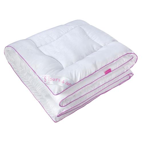 """Одеяло зимнее """"Антананариву"""" (лебяжий пух, микрофибра) 2 спальный (172*205)"""