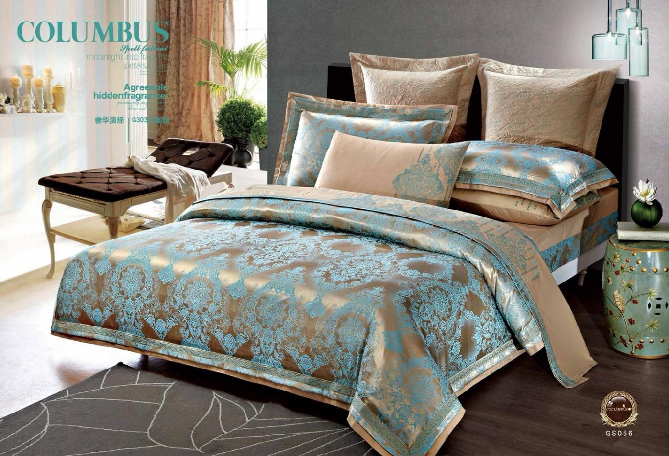 Постельное белье Алия (сатин-жаккард) (1,5 спальный) постельное белье cleo кпб сатин набивной люкс дизайн 406 1 5 спальный