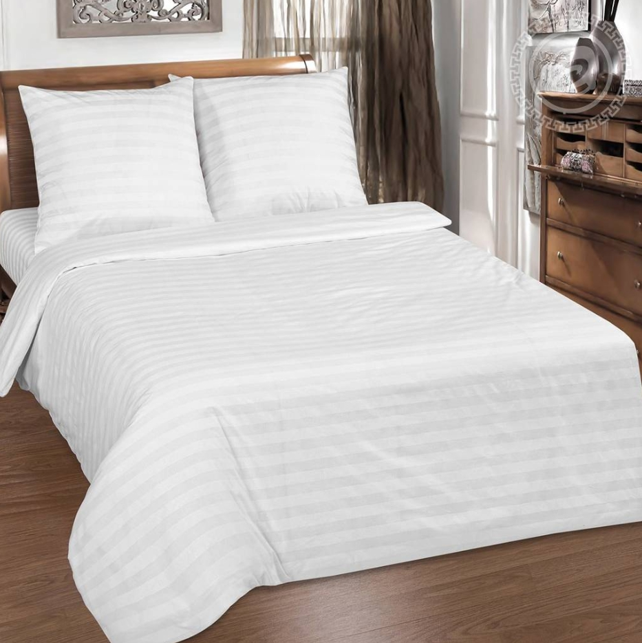 Постельное белье iv50174 (страйп-сатин) (1,5 спальный) постельное белье софья сатин 1 5 спальный